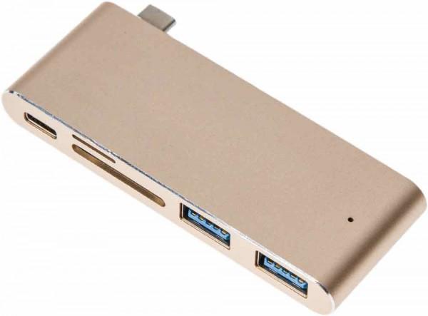 HC2 USB-C Hub Cardreader Combo