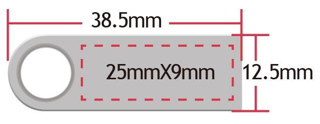 USB-Stick-Silver-Shape-mit-Druckbereich-Logo-Gravur