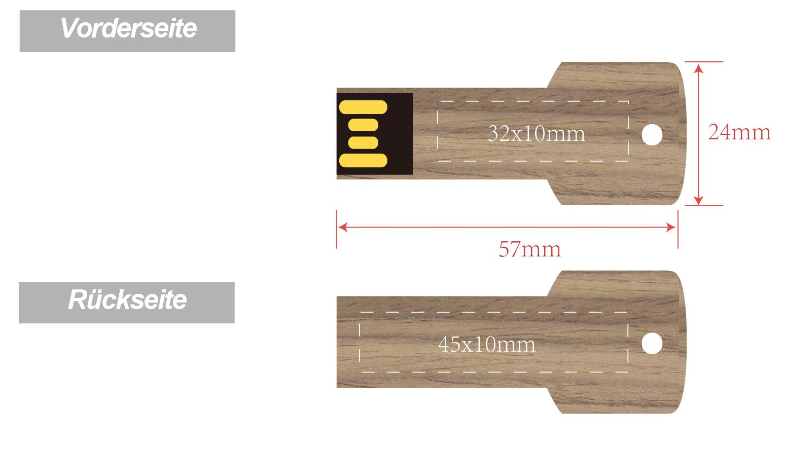 Wood-Key-Holz-USB-Sticks-Schlussel-Ansicht