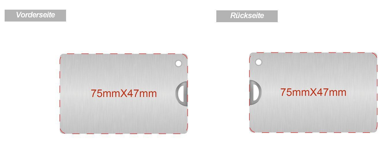 USB-Karte-aus-Metall-mit-Logo