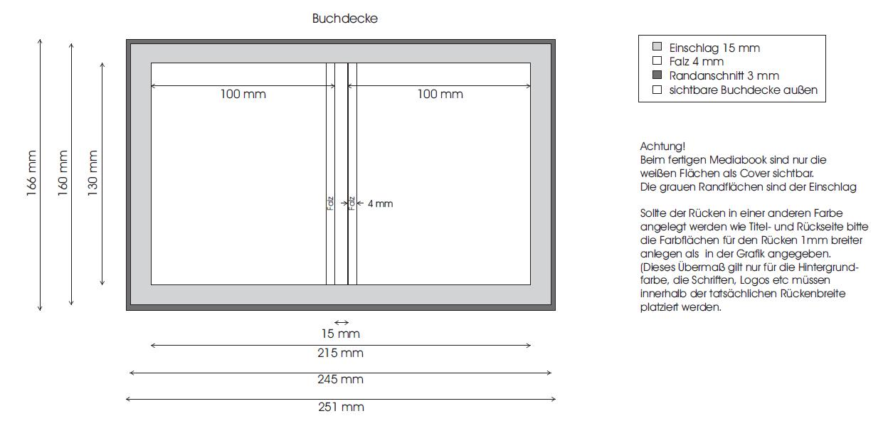 USB-Verpackung-Medienbuch