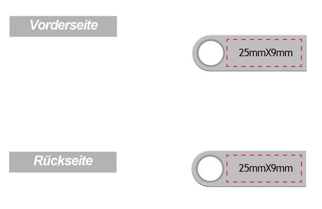 Ansicht-Silver-Shape-USB-3-Firmenlogo