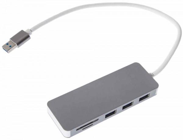 HC1 USB 3.0 Hub Cardreader Combo