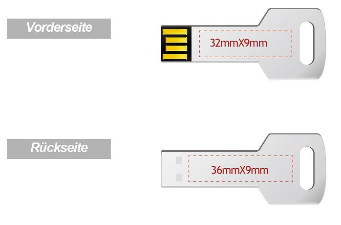 USB-Stick-in-Schl-sselform-mit-Logogravur