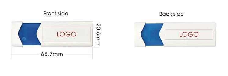 Ansicht-Snap-Sporty-Logodruck