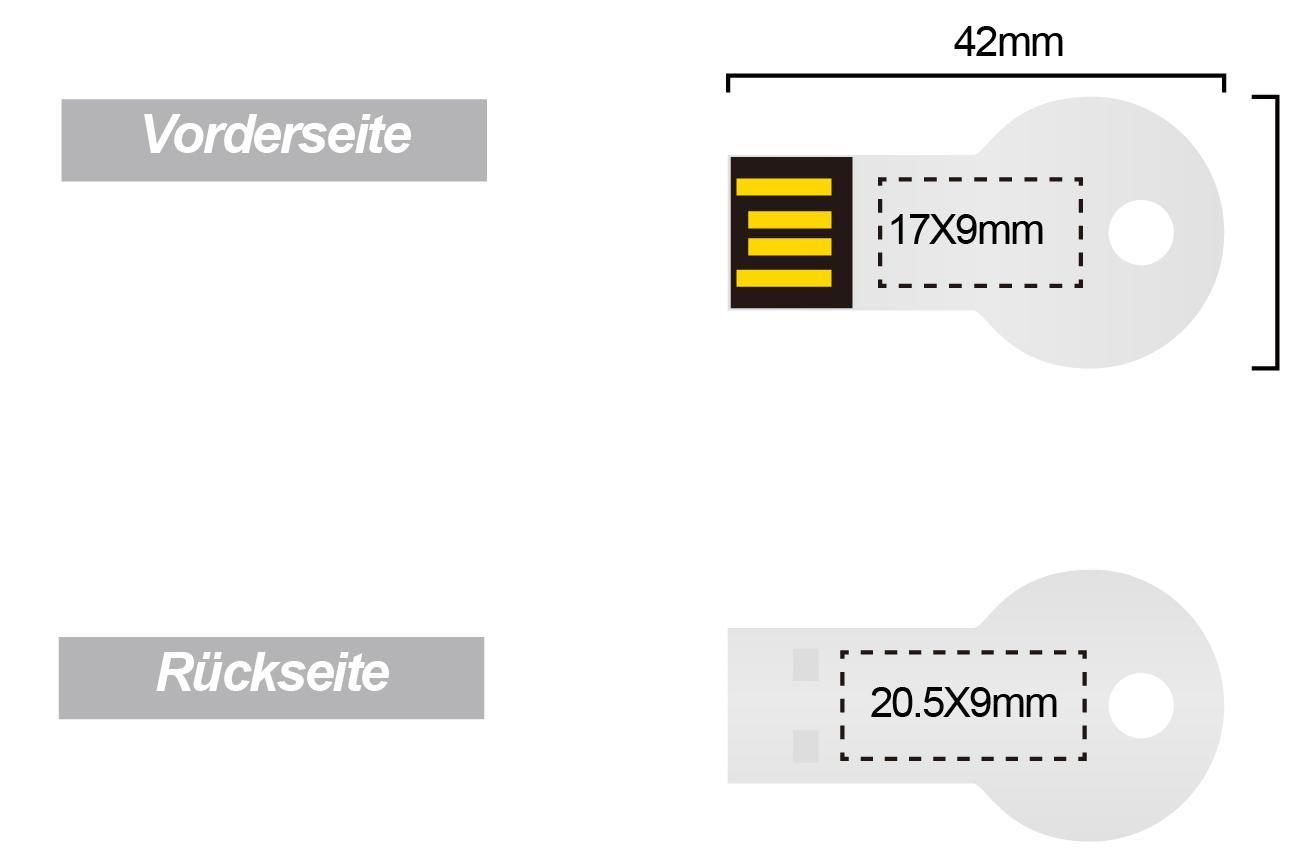 USB-Stick-Key-Mini-mit-Logo-Gravur-Druck